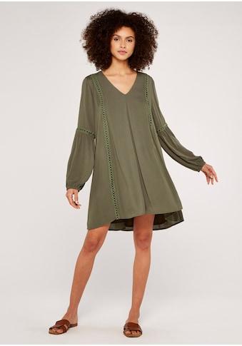 Apricot Minikleid »Lace Detail Boho Swing Dress«, mit Spitze kaufen