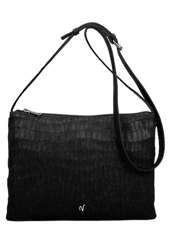 Vleder BAG Umhängetasche »Rike«, mit modischer Perforation, bekannt aus der TV Serie GZSZ kaufen