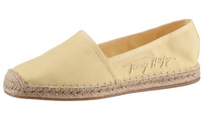 Tommy Hilfiger Espadrille »TH SIGNATURE ESPADRILLE«, in schmaler Schuhweite, mit... kaufen