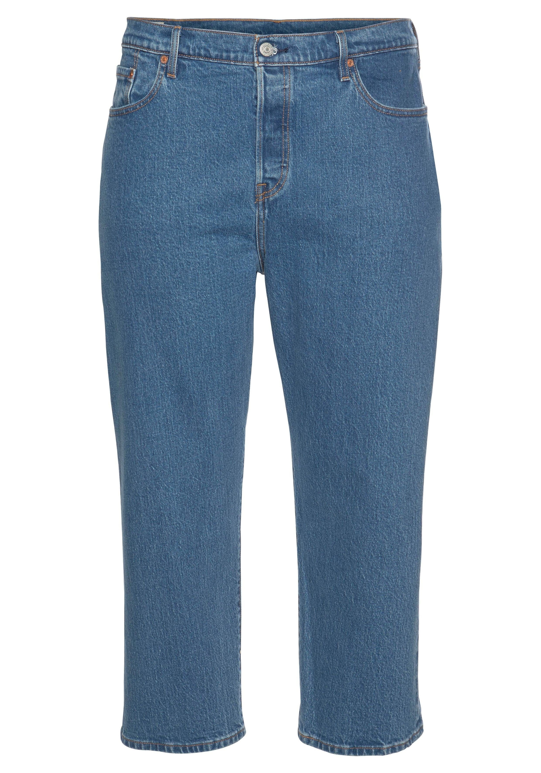levis plus stretchjeans 501 Die Original 501® im Cropped Style neu interpretiert von Levi's® Plus