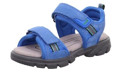 Superfit Sandale »Scorpius WMS Weiten-Messsystem: mittel«, mit Klettverschluss kaufen