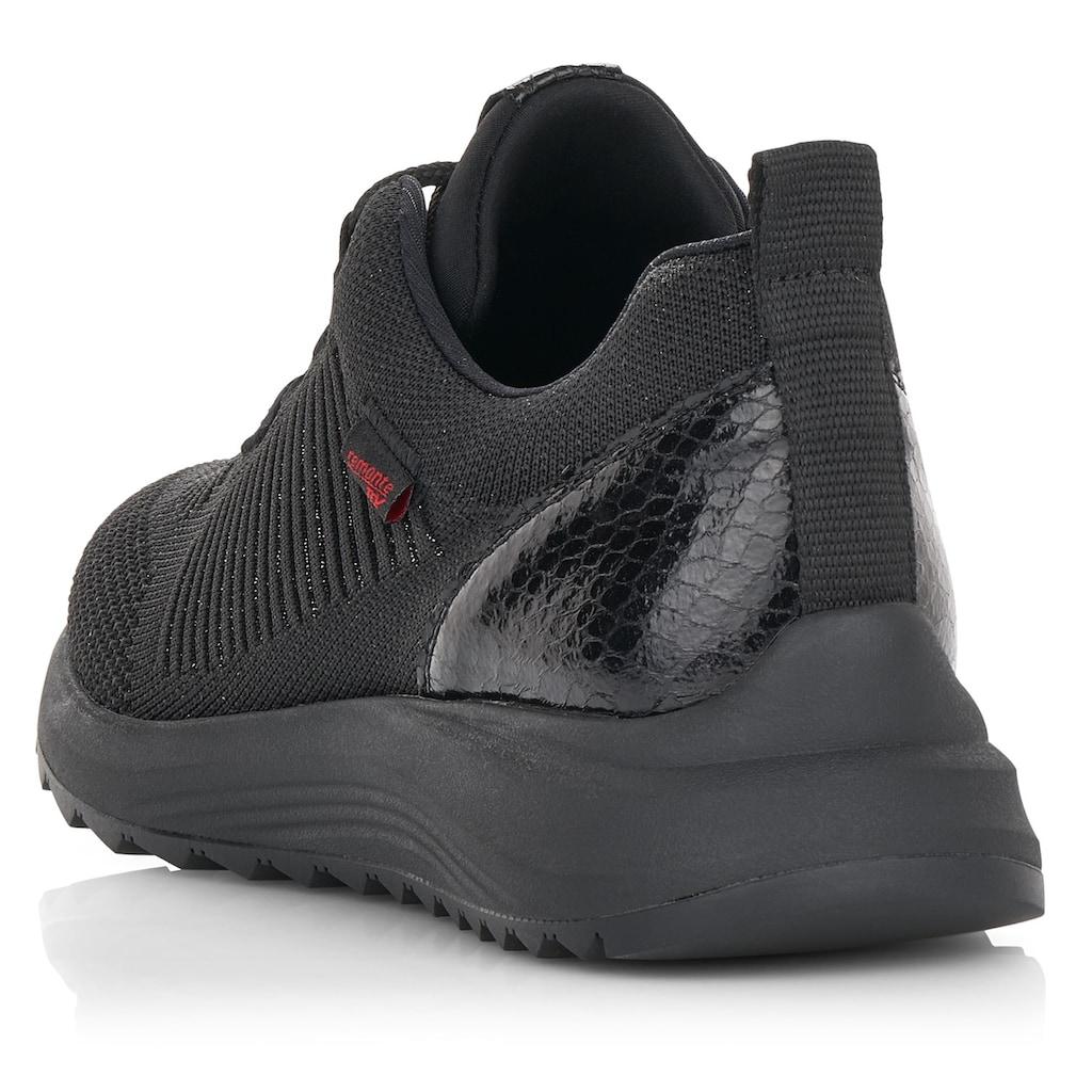 Remonte Sneaker, mit dezenter Snake-Prägung