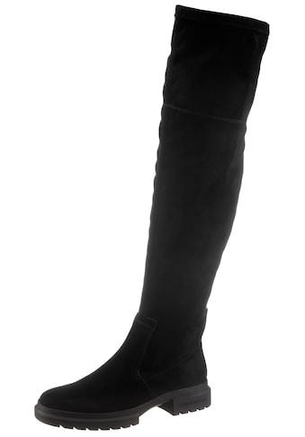 Calvin Klein Overkneestiefel, mit kurzem Innenreißverschluss kaufen