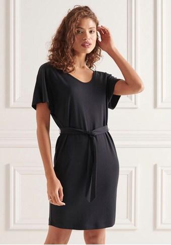 Superdry Jerseykleid »TIE WAIST MINI DRESS«, mit Gürtel zum Binden in der Tailie kaufen