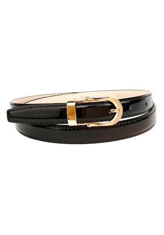 Anthoni Crown Ledergürtel, aus Lackleder kaufen