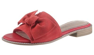 MARCO TOZZI by GMK Pantolette, mit großer Zierschleife kaufen