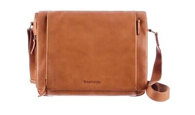 GreenLand Nature Messenger Bag, aus Leder mit Laptopfach kaufen