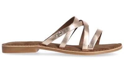 Mexx Pantolette »GARDA«, im Metallic-Look kaufen
