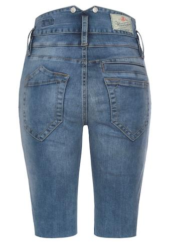 Herrlicher Jeansshorts »PITCH HIGH BIKE«, aus Reused- Denim im Radler-Style kaufen