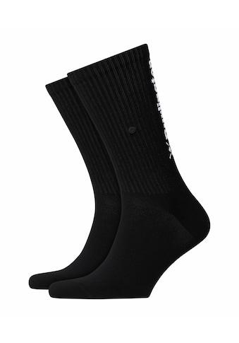 Burlington Socken Black Logo (1 Paar) kaufen