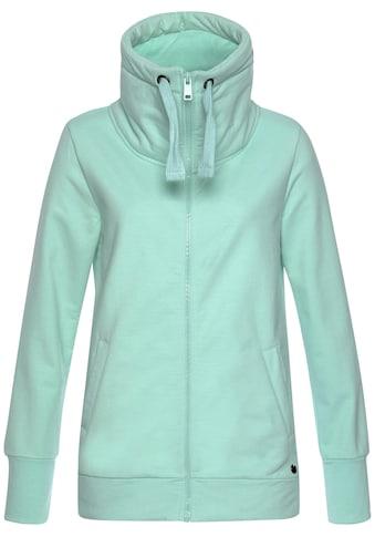 Ocean Sportswear Sweatjacke, mit voluminösem hohem Kragen kaufen