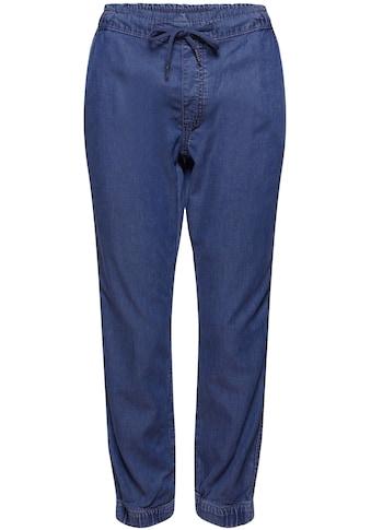 edc by Esprit Jogg Pants, mit elastischem Bund in der Taille und am Bein kaufen