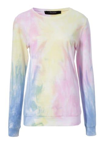 Aniston CASUAL Sweatshirt, mit Batik-Muster kaufen