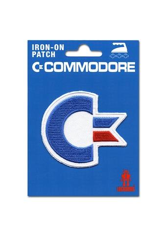 LOGOSHIRT Aufnäher mit Commodore-Logo kaufen