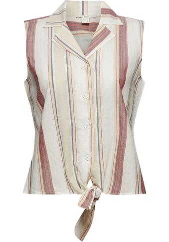 edc by Esprit Blusentop, mit süßem Knotendetail kaufen