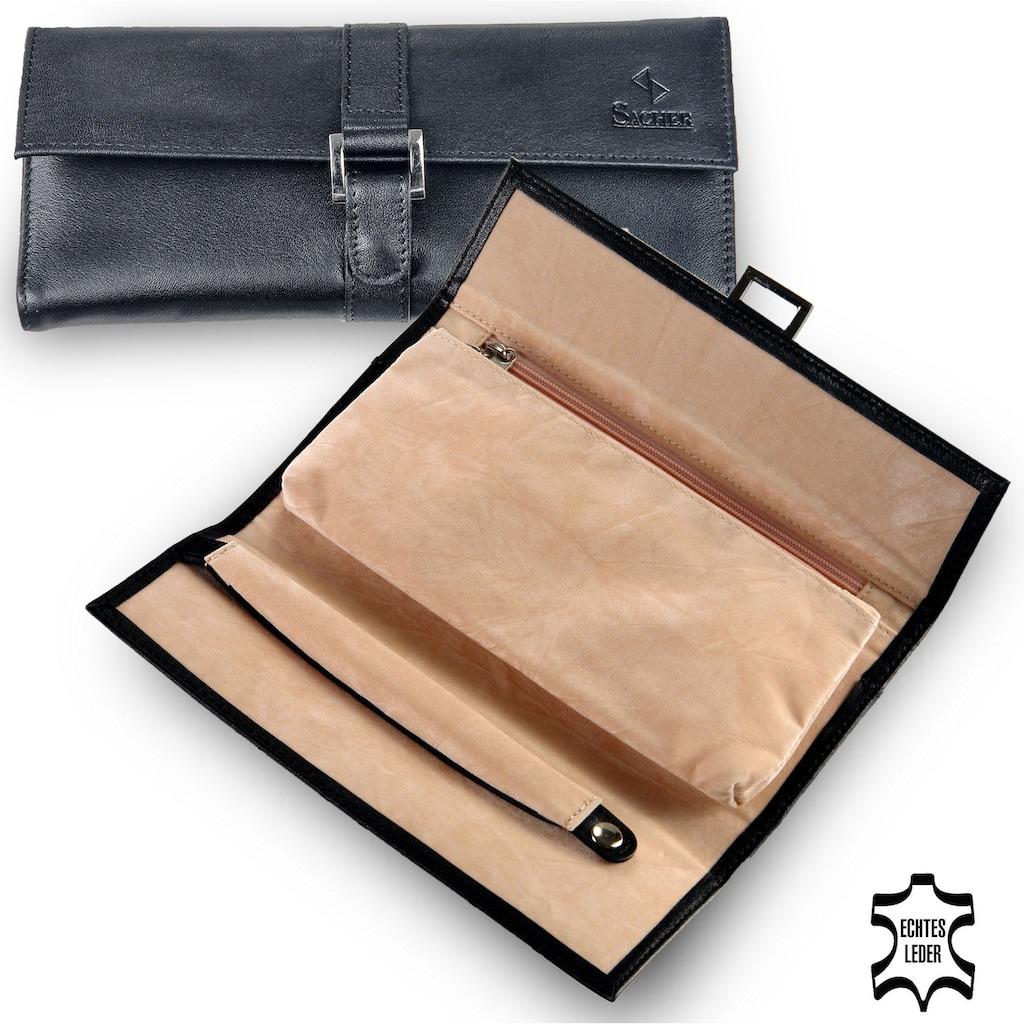 Sacher Schmuckrolle »Schmucktasche, 1011.010443«, (1 tlg.), feines italienisches Echtleder