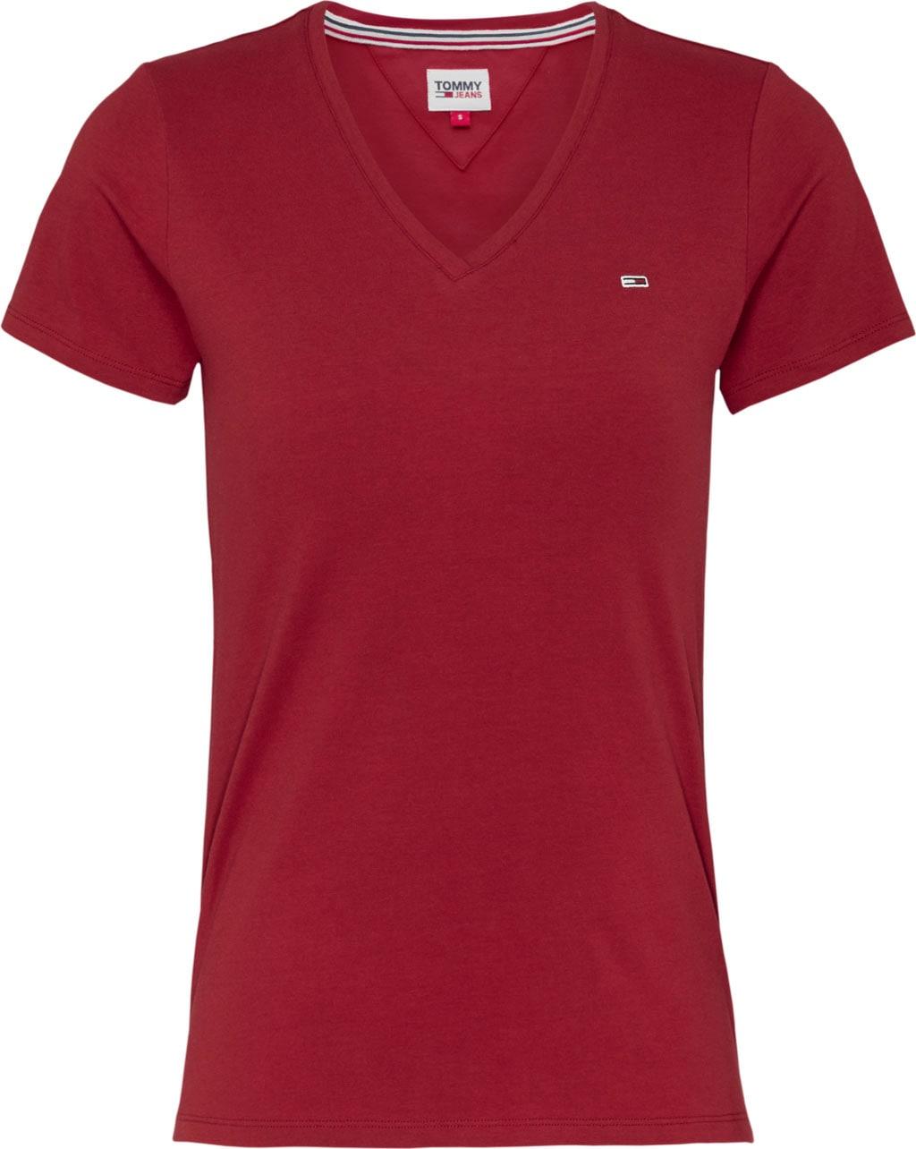 tommy jeans -  V-Shirt TJW SLIM JERSEY VN SHORTSLEEVE