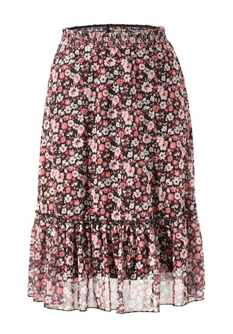 Aniston CASUAL Sommerrock, mit Blüten bedruckt - NEUE KOLLEKTION kaufen