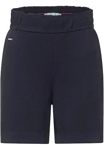 STREET ONE Shorts, mit Paperbag-Bund kaufen