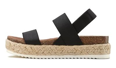 LASCANA Sandalette, mit Plateauabsatz kaufen