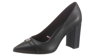 TOMMY HILFIGER High - Heel - Pumps »BLOCK BRANDING HIGH HEEL PUMP« kaufen