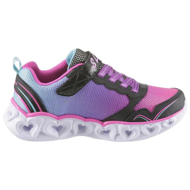 Skechers Kids Sneaker »Blinkschuh Heart Lights« für die mx7ch