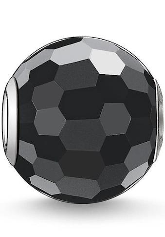 THOMAS SABO Bead »Karma Bead, Obsidian facettiert, K0003-023-11«, mit Obsidian kaufen