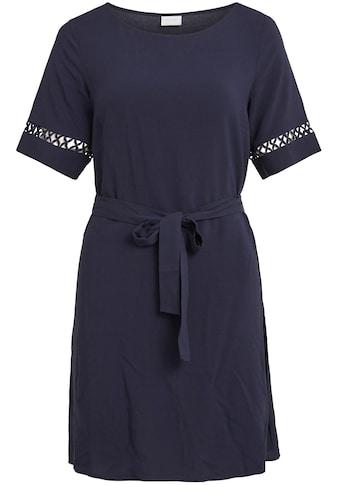 Vila Blusenkleid, mit Spitzeneinsatz am Ärmel kaufen