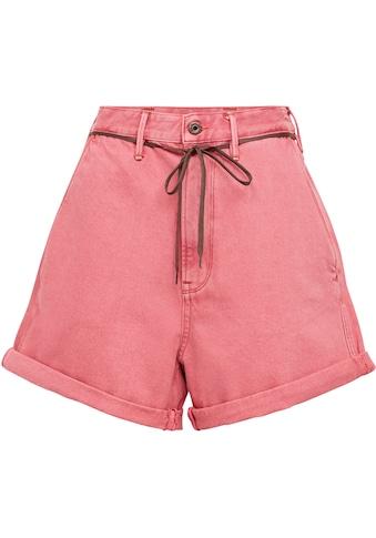 G-Star RAW Shorts »Lintell Shorts«, mit Ultrahoher Bund und dünner Schnürsenkel-Kordel kaufen