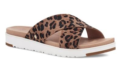 UGG Pantolette »Kari«, im Animal Look kaufen