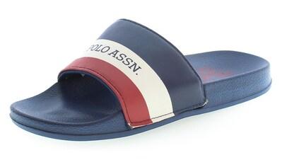 U.S. Polo Assn Pantolette »Fun«, mit markantem Logoschriftzug kaufen