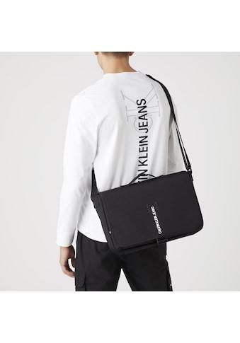 Calvin Klein Jeans Messenger Bag »MESSENGER W/FLAP OUTLINE«, mit gepolstertem Laptopfach kaufen