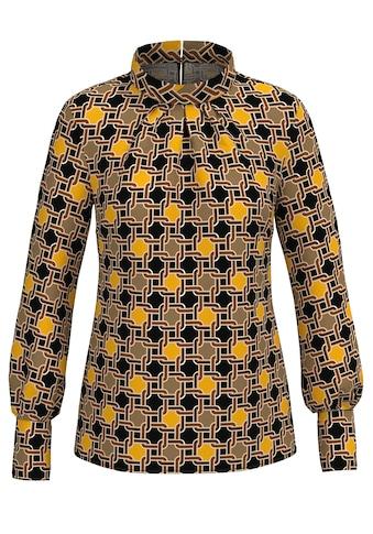 """bianca Shirtbluse »DONNA«, im Kettenprint mit Farbakzenten in """"saffron"""" kaufen"""