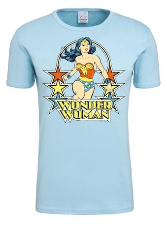 LOGOSHIRT T-Shirt »Wonder Woman – Stars«, mit lizenziertem Originaldesign kaufen