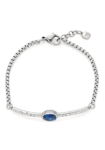 LEONARDO Edelstahlarmband »Salvina, 018297«, mit Kristallglasstein kaufen
