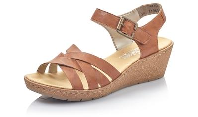 Rieker Sandalette, mit praktischem Klettverschluss kaufen