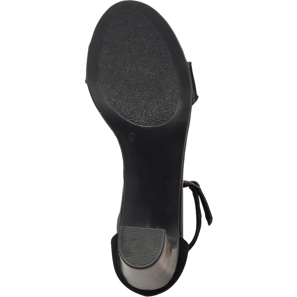 Veganino High-Heel-Sandalette »Lederimitat«