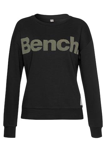 Bench. Sweatshirt, mit Labeldruck kaufen