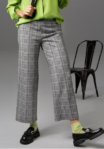 Aniston CASUAL Culotte, im Hahnentritt- oder Karo-Muster kaufen