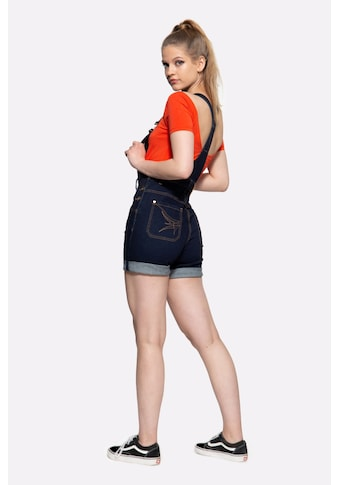 QueenKerosin Latzjeans, High Waist kaufen