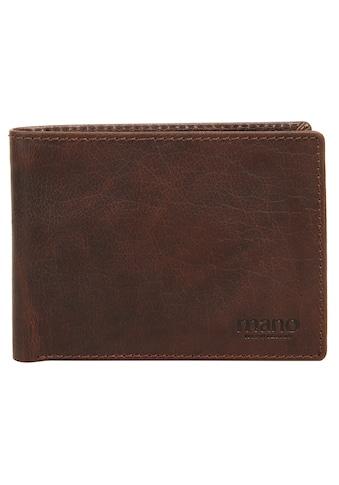 MANO Geldbörse »DON SIMON«, Kreditkartenfächer kaufen