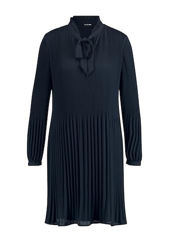 Taifun Plisseekleid »Plisséekleid mit Schleifenkragen« kaufen