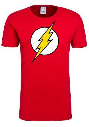LOGOSHIRT T-Shirt »Flash Logo«, mit lizenzierten Originaldesign kaufen