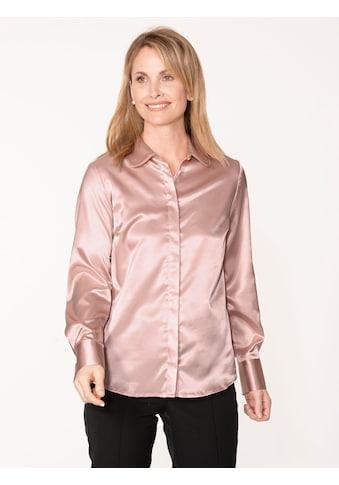 Mona Hemdbluse, aus elastischem Satin kaufen
