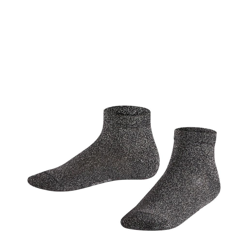 FALKE Sneakersocken »Shiny«, (1 Paar), aus hautschmeichelnder Baumwolle