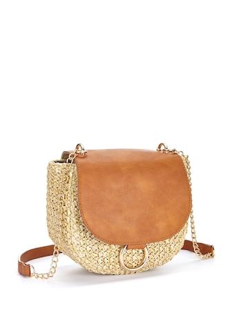 LASCANA Umhängetasche, Minibag aus Bast kaufen