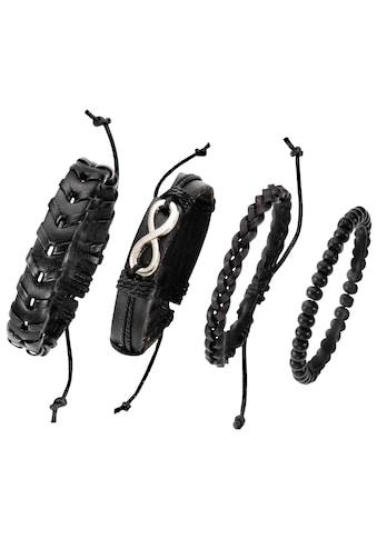 J.Jayz Armband Set »Infinity/Unendlichkeitsschleife« (Set, 4 tlg.) kaufen
