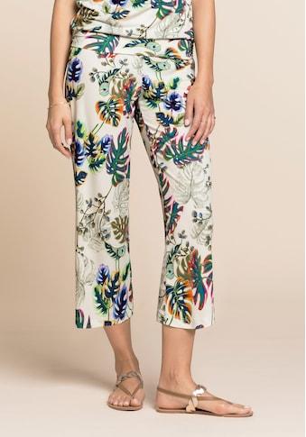 bianca Culotte »PARIGI«, mit coolen Jungle-Print und Bindegürtel kaufen