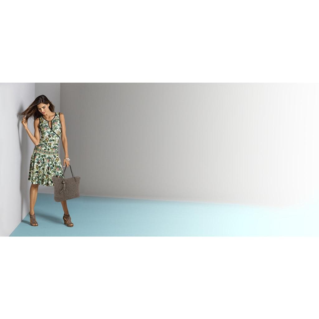 LINEA TESINI by Heine Druckkleid, mit floralem Dessin