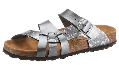 BIO POINT Pantolette, im Metallic-Look kaufen
